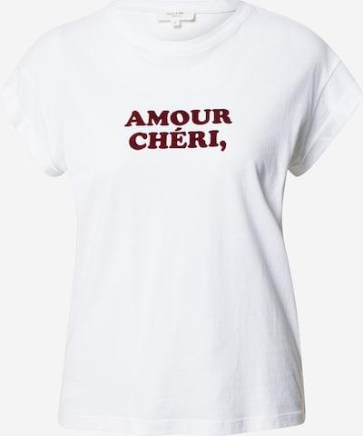 Grace & Mila Tričko 'BENOIT' - vínově červená / bílá, Produkt