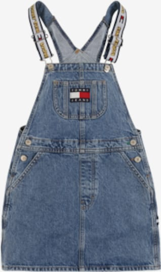 TOMMY HILFIGER Latzrock ' LOONEY TUNES' in blue denim, Produktansicht