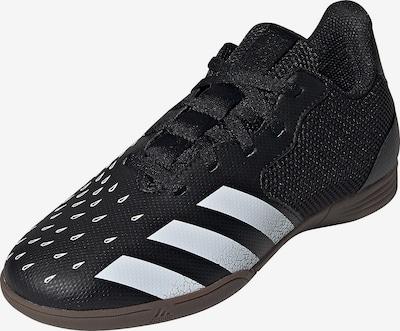 ADIDAS PERFORMANCE Fußballschuh in schwarz / weiß: Frontalansicht