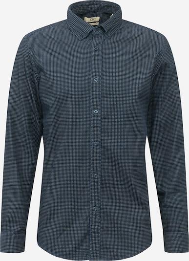 EDC BY ESPRIT Košile 'Houndst' - námořnická modř / šedá, Produkt