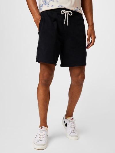 Abercrombie & Fitch Kalhoty - černá, Model/ka