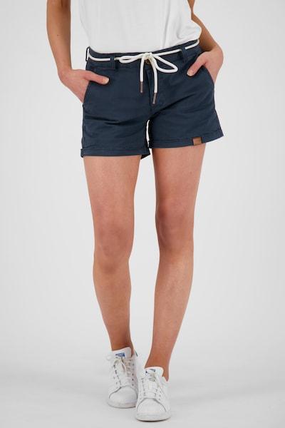 Alife and Kickin Shorts 'Jule' in marine, Modelansicht