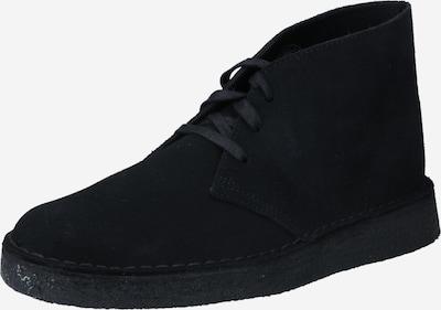 Pantofi cu șireturi 'Desert Coal' Clarks Originals pe negru, Vizualizare produs