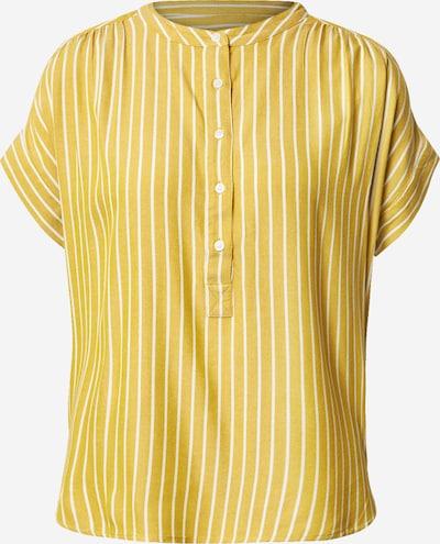 GAP Chemisier en jaune / blanc, Vue avec produit