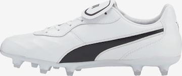 Chaussure de foot PUMA en blanc