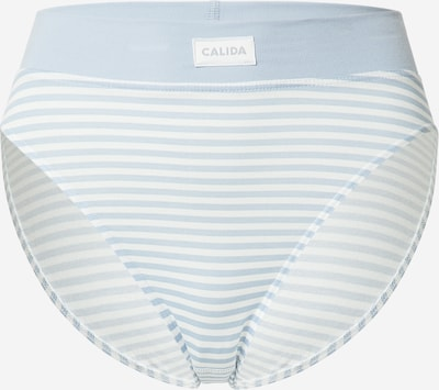 CALIDA Slip en bleu clair / blanc, Vue avec produit