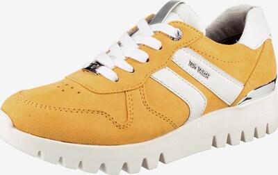 TOM TAILOR Sneakers in gelb / silber / weiß, Produktansicht