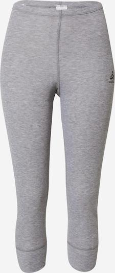 ODLO Sportondergoed in de kleur Donkergrijs / Grijs gemêleerd, Productweergave
