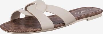COACH Mules 'Essie' in White