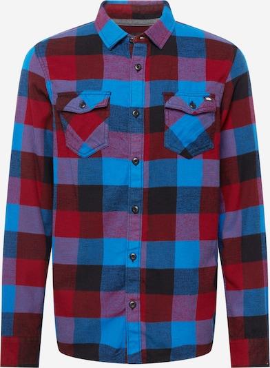 VANS Hemd in blau / rot / schwarz, Produktansicht