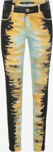 CIPO & BAXX Jeans in de kleur Geel, Productweergave