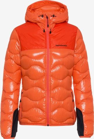 PEAK PERFORMANCE Winterjacke 'Helium Glacier' in Orange