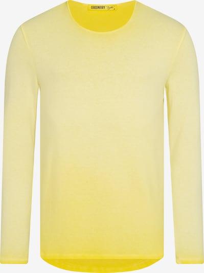 Ordinary Truffle Langarmshirt 'LEXY' in gelb, Produktansicht