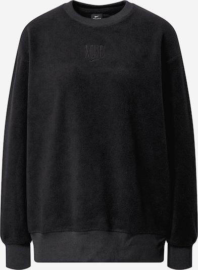 NIKE Sportsweatshirt i sort, Produktvisning