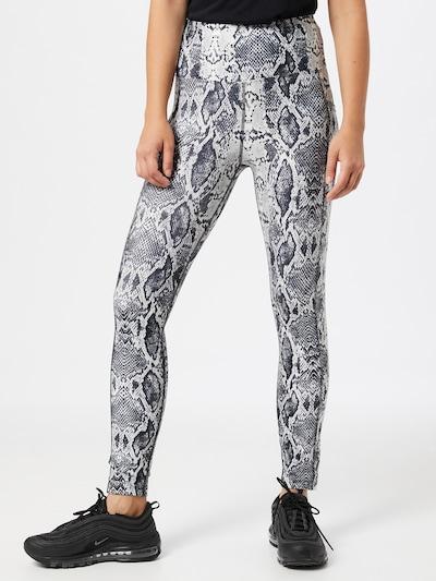 Marika Sportske hlače u crna / bijela: Prednji pogled