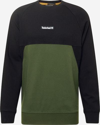 Bluză de molton TIMBERLAND pe kaki / negru, Vizualizare produs