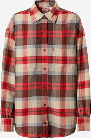 LEVI'S Bluse 'REMI' i rød