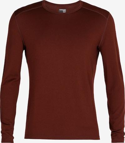 ICEBREAKER Shirt in braun, Produktansicht