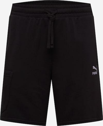 Pantaloni cu buzunare PUMA pe negru, Vizualizare produs