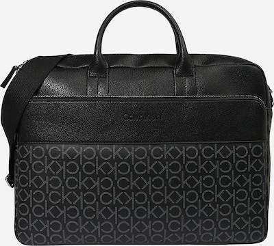 Borsa per laptop Calvin Klein di colore grigio chiaro / nero, Visualizzazione prodotti