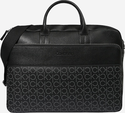 Calvin Klein Bolsa para portátil en gris claro / negro, Vista del producto