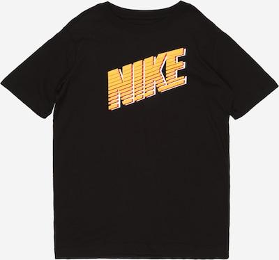 Nike Sportswear T-Shirt in orange / orangerot / schwarz / weiß, Produktansicht