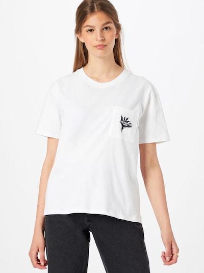 The Kooples Тениска в черно / бяло: Изглед отпред
