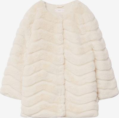 fehér melír MANGO KIDS Kabát, Termék nézet