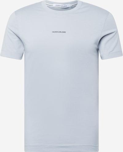 Calvin Klein Jeans T-Shirt en gris clair / noir, Vue avec produit