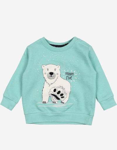 BLUE SEVEN Sweatshirt in hellblau / dunkelblau / weiß, Produktansicht