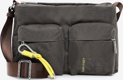Suri Frey Shoulder Bag ' SURI Sports Marry ' in Brown / Yellow / Grey, Item view