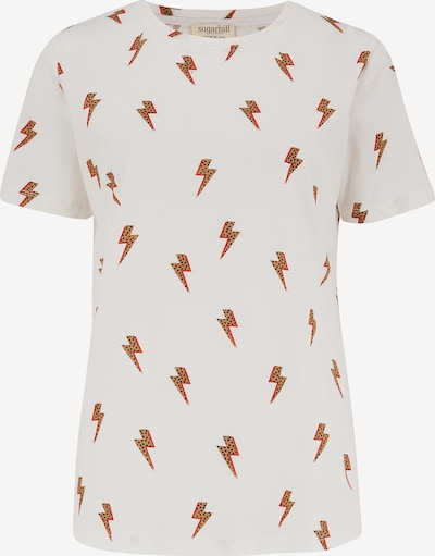 Sugarhill Brighton Shirt in Light brown / Orange / Black / Off white, Item view