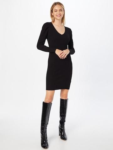 ONLY Gebreide jurk 'BALOO' in Zwart