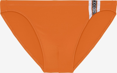 HOM Maillot de bain 'Alize' en gris foncé / orange / blanc, Vue avec produit