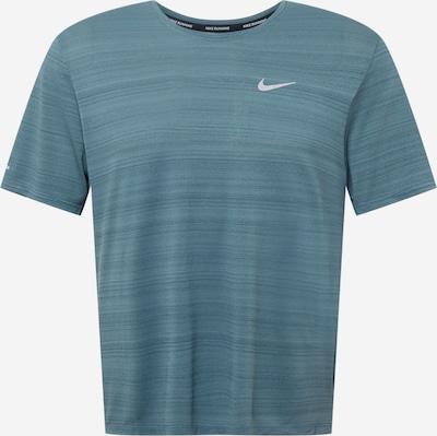 NIKE Sportshirt 'Miler' in himmelblau, Produktansicht