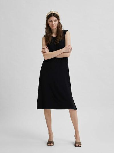 SELECTED FEMME Beach dress in Black, View model