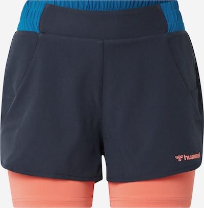 Hummel Sportbyxa 'hmlVENKA' i blå / mörkblå / rosa, Produktvy