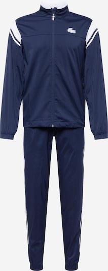 Lacoste Sport Trainingsanzug in marine / weiß, Produktansicht