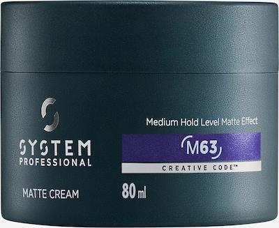 System Professional Lipid Code Haarcreme 'M63' in blau / schwarz / weiß, Produktansicht
