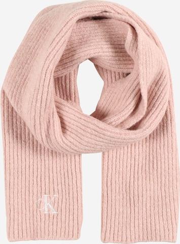 Calvin Klein Jeans Szalik w kolorze różowy