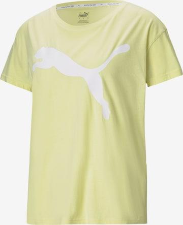 PUMA Performance Shirt in Yellow