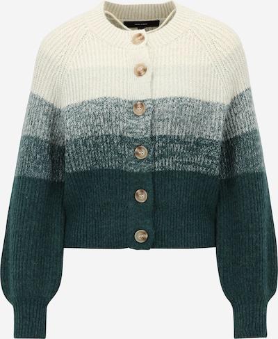 Vero Moda Petite Плетена жилетка 'KYLIE' в тъмнозелено / бяло, Преглед на продукта