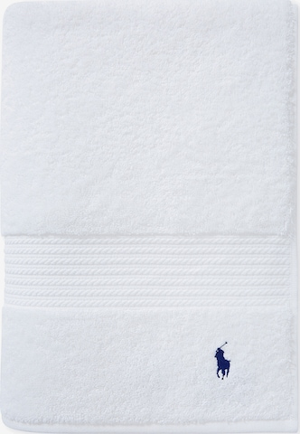 Ralph Lauren Home Towel 'POLO PLAYER' in White