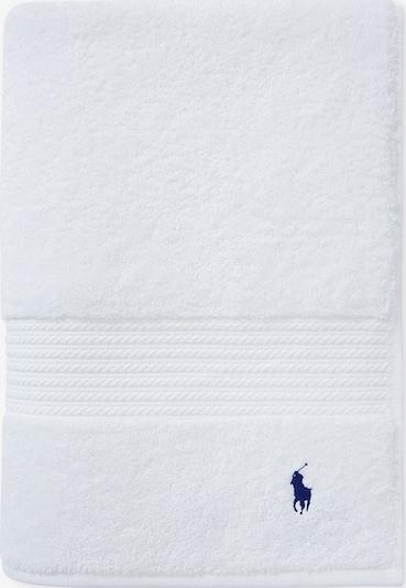 RALPH LAUREN Handtuch 'POLO PLAYER' in weiß, Produktansicht