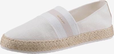 GANT Espadrilles in beige / offwhite, Produktansicht