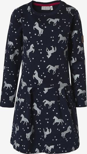 SALT AND PEPPER Kleid in dunkelblau / grau, Produktansicht