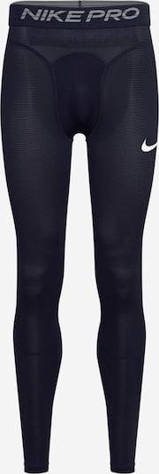 NIKE Sous-vêtements de sport en gris / noir / blanc, Vue avec produit