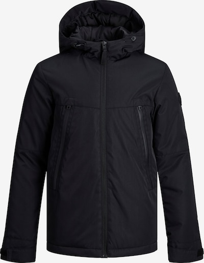 Jack & Jones Junior Winterjacke in schwarzmeliert, Produktansicht