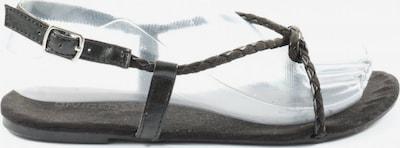 H&M Riemchen-Sandalen in 37 in schwarz, Produktansicht