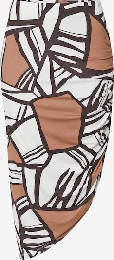 TAIFUN Skirt in Light brown / Dark brown / White, Item view